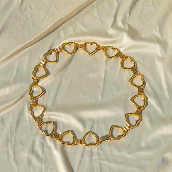 heart vintage belt