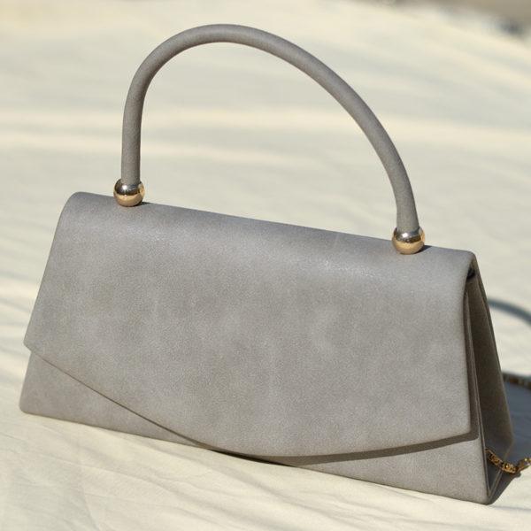 Vintage gray purse